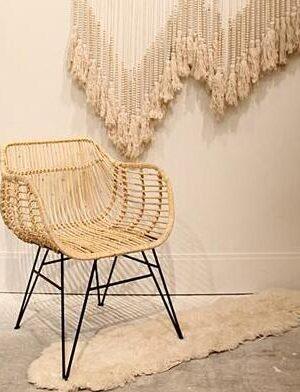 Ningrum Rattan Chair - A Pair