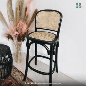 rattan bar stool booming plus