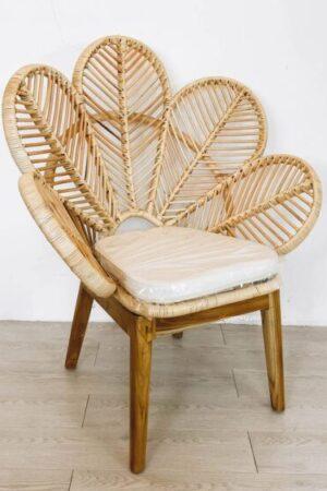 flower rattan chair booming plus
