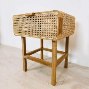 Rattan Side Table booming plus