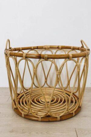 rattan laundry basket booming plus