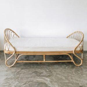 rattan sofa bed, rattan daybed, rattan furniture